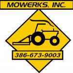 Mowerks door Logo